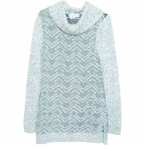 Indigenous Ivory Black Knit Pullover Sweater